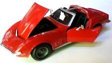 """Chevrolet Corvette C3 1968-1982 1:24 scale diecast special """"white lightning"""" NEW"""