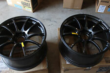 Advan Racing RZ 19x9 +35 in 5x114.3PCD Pair Only - open box