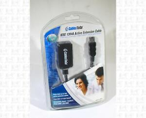 CablesToGo IEEE 1394A Active Extension Cable 16 Feet