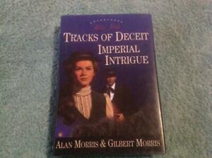 2 X Stories Tracks of Deceit - Imperial Intrigue By Alan & Gilbert Morris Book