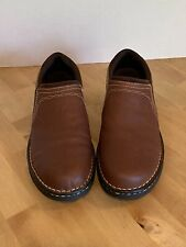 ARIAT LODEN 4LR Pecan Leather Casual Loafers Shoes Womens US Size 9.5