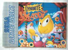 64106 manual de instrucciones-Dynamite Headdy-Sega Game Gear (1994) 672-1794-50