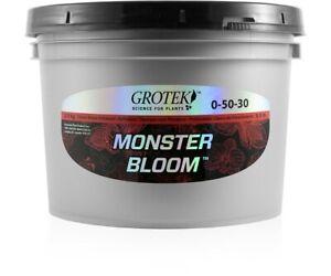Grotek Monster Bloom 2.5 KG - booster flower enhancer hydroponic nutrient 2.5kg