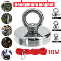 11-54KG Pull Salvage Strong Recovery Magnet Fishing Treasure Neodymium with