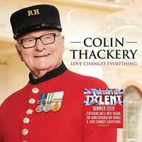 Colin Thackery - Love Changes Everything [CD] Sent Sameday*