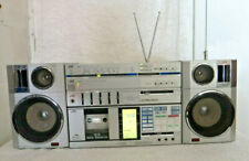 Vintage JVC P-55 Portable Boombox Stereo Cassette w/Instruction Manual