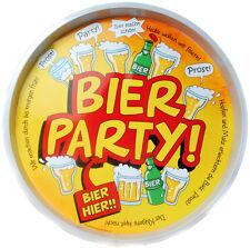 Tablett Bier Party NEU - Partyartikel Dekoration Karneval Fasching