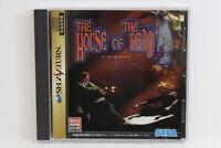 The House of The Dead W/ Spine Reg Card SEGA Saturn SS Japan Import US Seller