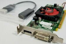 Dell AMD HD 6450 Windows 10 DisplayPort DVI Video Card HDMI VGA Adapter ATX Slim
