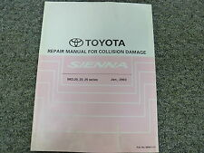 2003 2004 2005 2006 Toyota Sienna Body Collision Shop Service Repair Manual