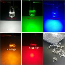 100X  8mm 0.5W High Power LEDs White Red Green Blue Yellow LED Assortment Kit