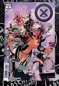 X-Men #3 2021 Marvel Comics 1:25 Terry Dodson Variant Rogue Wolverine