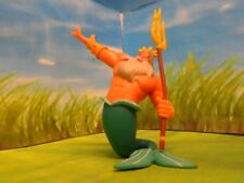 DISNEY BULLYLAND MERMAID KING TRITON TOY/ CAKE TOPPER / COLLECTABLE