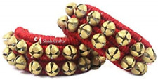 More details for kathak dancing ghungroo ankle bells/music anklet pair, indian classical dancers