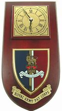 ARMY PAY CORPS  CLASSIC HAND MADE TO ORDER WALL CLOCK