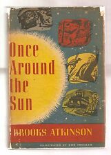 ONCE AROUND THE SUN 1951 ATKINSON 1st EDITION SIGNED W/DJ 1st PRINT  ILLUSTRATED