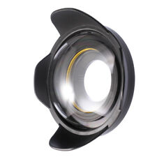 Seafrog 67mm/130ft UnderWater WideAngle Fisheye Lens Dome Port Diving House Case