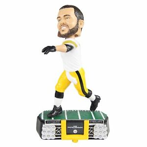 Ben Roethlisberger Pittsburgh Steelers Stadium Lights Bobblehead NFL