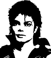 Michael Jackson  Decal / Sticker for mobile phone 67mm high.