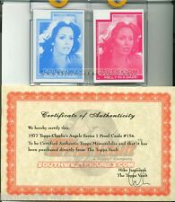 Topps 1977 Charlie's Angels 2x Proof Cards #154 w/ Topps® COA