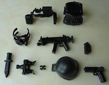 (no.8-5) custom swat police helmet military gun army weapons LEGO minifigures