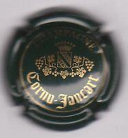 capsule de champagne CORNU JANCART, vert foncé et or