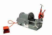 Reconditioned Ridgid 1822 I Auto Chuck Pipe Threading Machine 20000 815a Amp Dies
