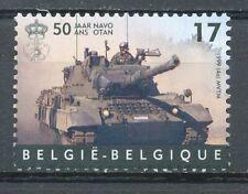[154026] TB  **/Mnh    - [2809] Belgique 1999, 50 ans de l'OTAN-NATO, tank Léopa