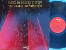 George Shearing Trio ORIG OZ LP 500 miles high NM '79 MPS Jazz Bop Cool