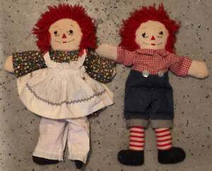 Details about  /Collector/'s Edition Raggedy Ann And Andy Dolls  In 1996  By Johnny Gruelle