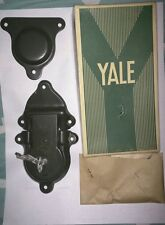 Vintage Yale & Towne Steamer Trunk lock & Keys 1940's Military Complete Set Army