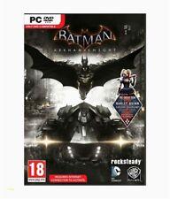 Batman Arkham Knight + Harley Quinn DLC PC Brand NEW Sealed
