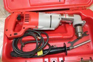 "~ MILWAUKEE 3107-6 7 Amp 1/2"" Corded Heavy Right-Angle Drill Kit ~"