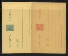Puerto  Rico   2  postal  cards   unused        MS0122