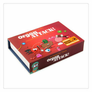 Organ Attack! Board Card Party Game MELBOURNE STOCK