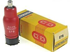 EF6 = TEF6 = VEF6 = MEF6 = 6E2 Philips Radio Röhre tube NOS NEW NEU