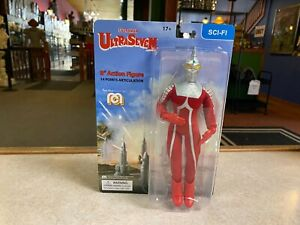 """2021 Mego Ultra Man ULTRASEVEN 8"""" Action Figure MOC - IN STOCK"""