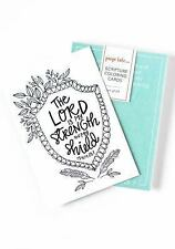 Scripture Coloring Cards : Color, Share, and Inspire by Paige Tate & Co....