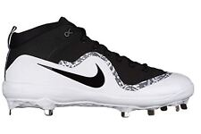 premium selection 459b4 fd210 Men s Nike Force 917920-001 Air Trout 4 Pro Metal Mid Baseball Cleats Size 9