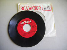 HANK SNOW tears in the trade winds/queen of draw poker town RED LABEL  RCA  45