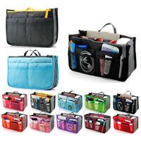 Women's Travel Insert Handbag Organiser Purse Large Organizer Storage Bag