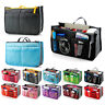 Women's Travel Insert Handbag Organiser Purse Large Organizer Storage Bag