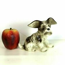 "Cute Little 6"" Japanese Porcelain terrier figurine"