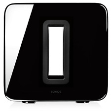 Sonos Wireless Subwoofer Powered Black Sub Brand New Factory Sealed Box