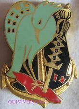 IN8352 - INSIGNE 42° Bataillon Commandement Services, dos guilloché