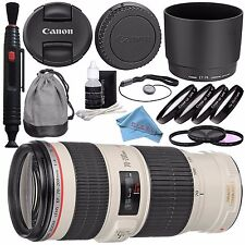 Canon EF 70-200mm f/4 L IS USM Lens for Canon Digit Deluxe Kit