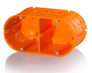 Unterputzdose massiv 2-fach bis 5-fach Gerätedose Schalterdose Klemmdose 63mm