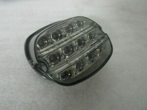 OEM Harley Davidson Sportster Touring Softail Dyna Layback LED Tail Lamp SMOKED