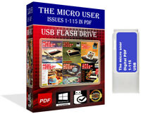 The Micro User Issues 1-115 PDF Magazine Full Collection BBC Micro/Acorn ON USB