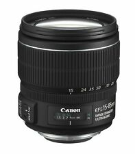 Canon EF-S 15-85 mm f/3.5-5.6 IS USM objetivamente-usados #228